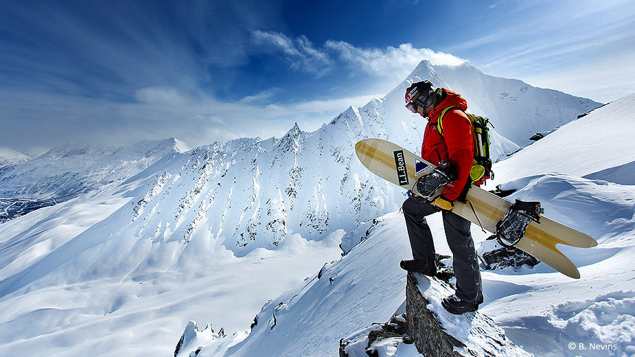 Ticket to ride: Valdez, Alaska  - © B. Nevins