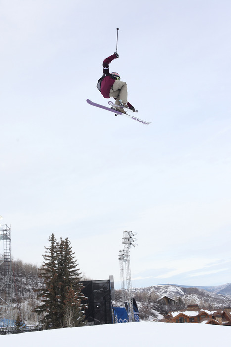 January 26th, 2012 - Aspen, CO - Buttermilk Mountain: Kaya Turski competes in the Women's Ski Slopestyle Final at Winter X Games 16.