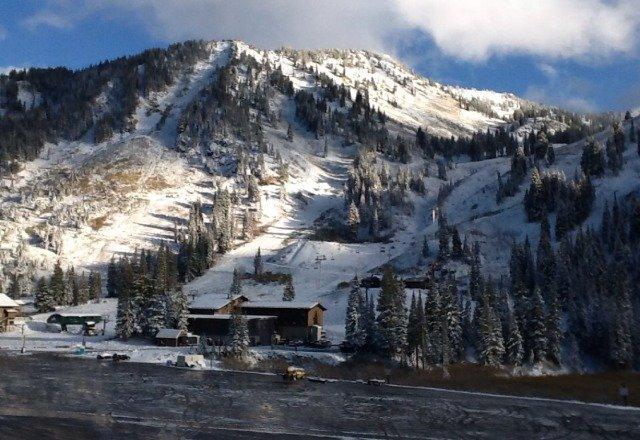 snowing at Alta.