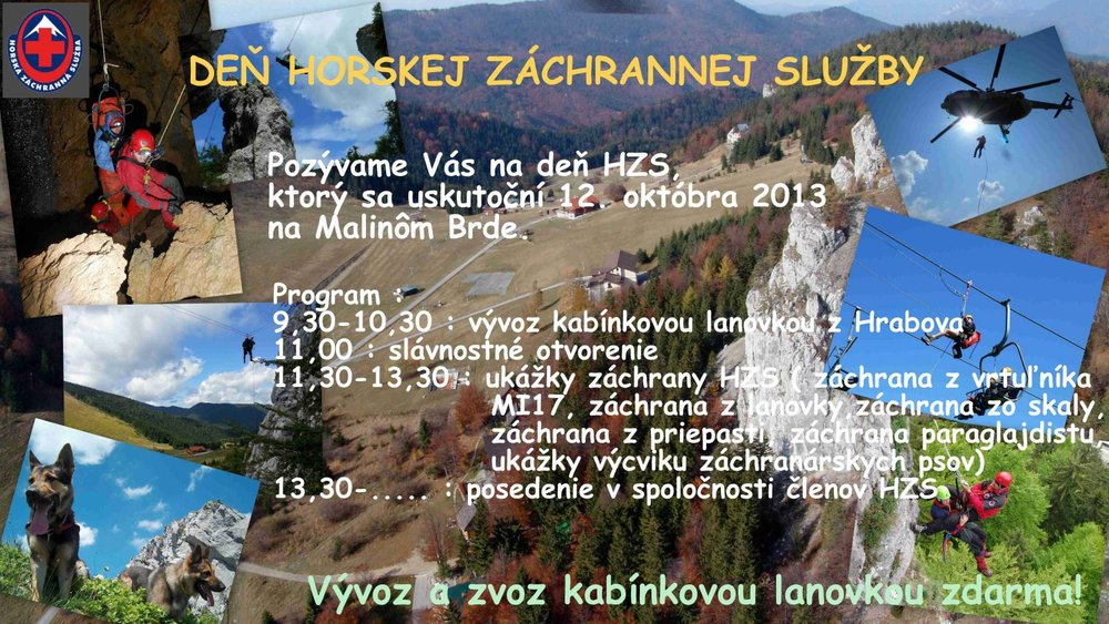 Deň Horskej záchrannej služby