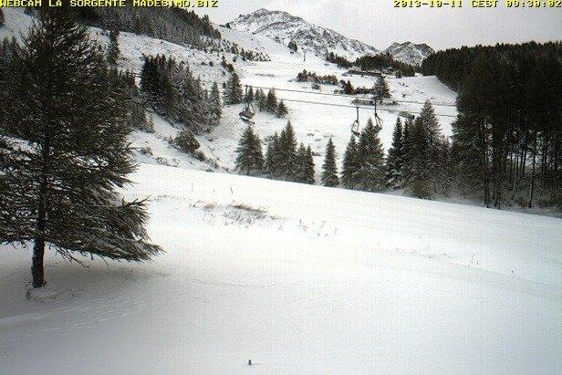 Neve fresca di Ottobre - Madesimo, Lombardia
