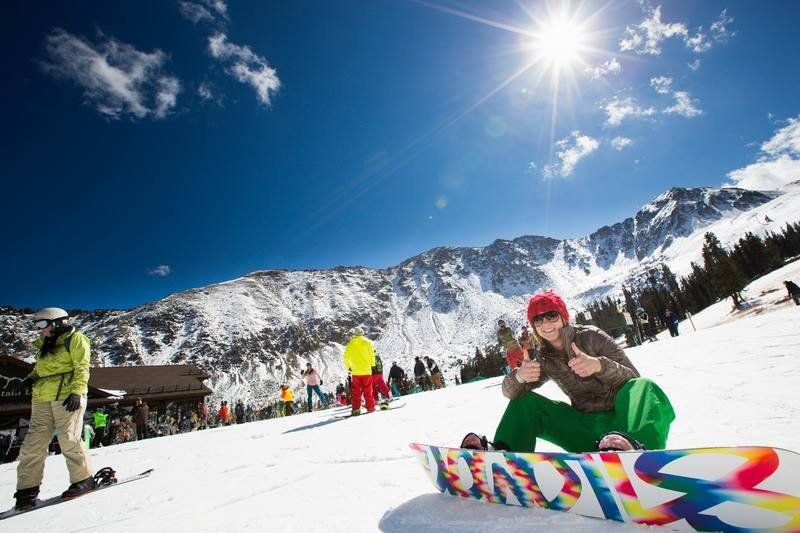 All smiles on A-Basin's opening day - ©Dave Camara/Arapahoe Basin Ski Area
