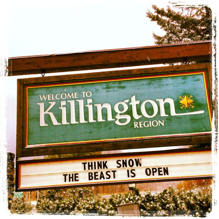 Killington open for business.