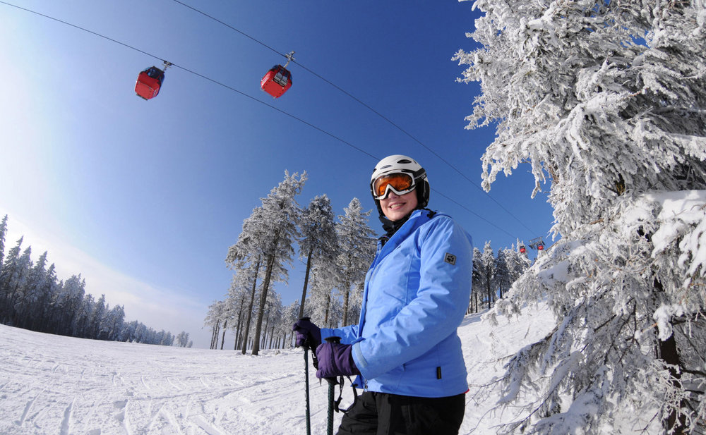 Skifahren im Skigebiet Braunlage- Wurmberg - © Wurmbergseilbahn / Stefan Herbke