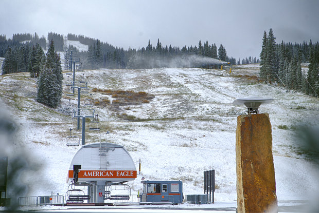 Copper Mountain gettin' there... - © Tripp Fay/ Copper Mountain Resort