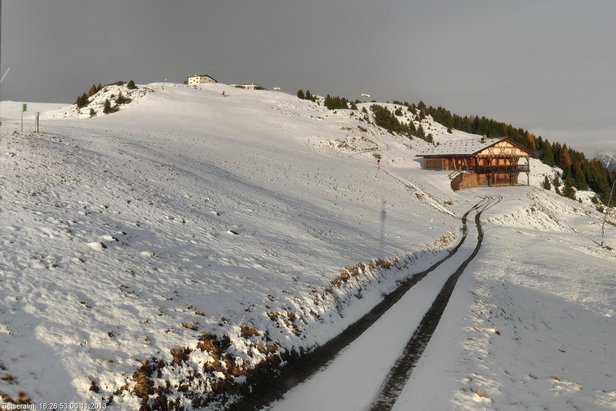 Fresh snow in Alpe di Siusi, Italy (Sudtirol), 6.11.13
