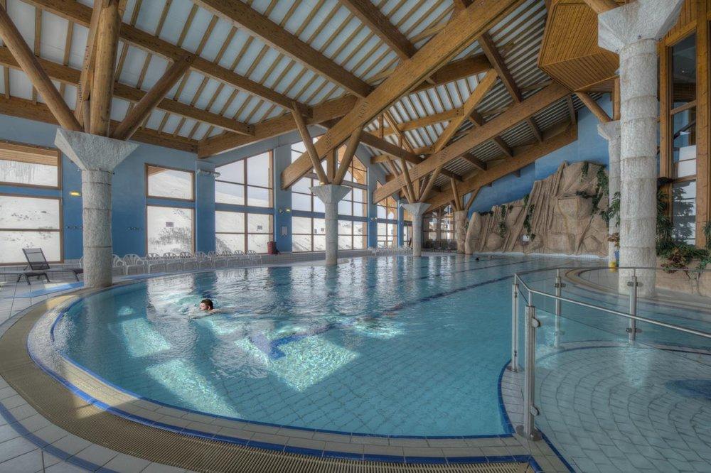 Choisir les Menuires, c'est aussi se laisser l'opportunité de profiter de moments de détente à l'Aquaspa - © G. Lansard / OT des Menuires