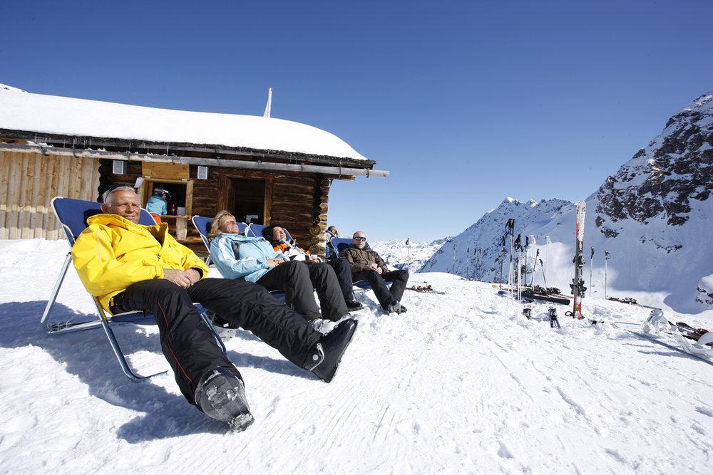 Relax na snehu - Silvretta-Montafon - © Silvretta Montafon