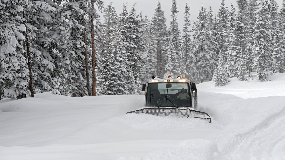 Early season snow in Steamboat has been plentiful in 2013. - © Photo courtesy Larry Pierce/Steamboat.