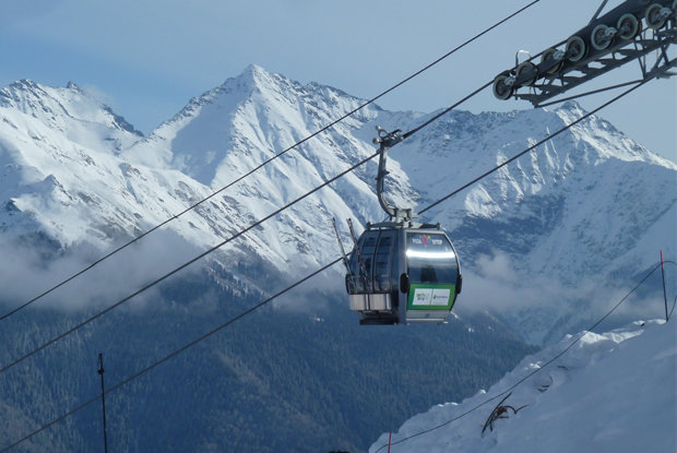 Views from Rosa Khutor. - © Brian Pinelli