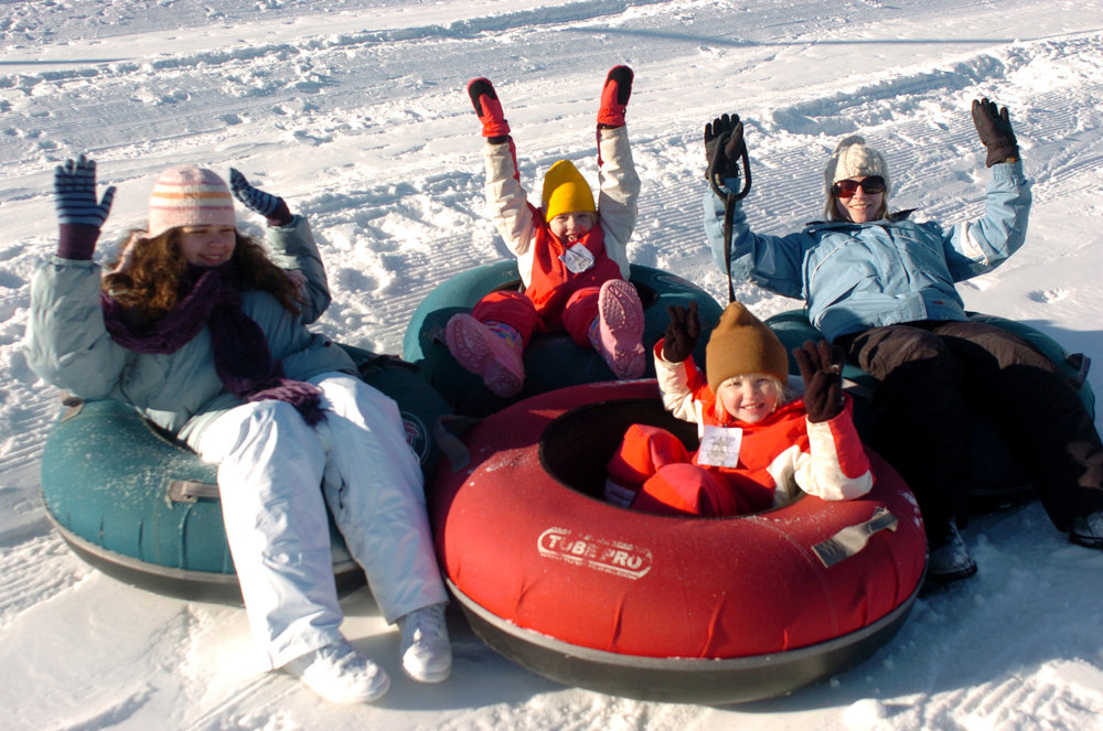 Snow tubing in Hidden Valley - © Hidden Valley