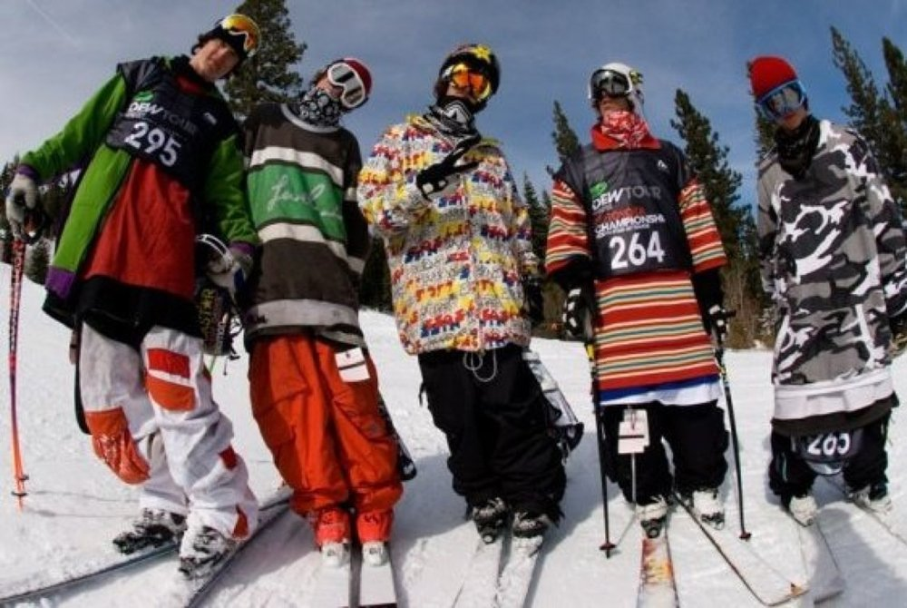 Let's have a ski off.  I'll bring my crew from southside Hunter yo