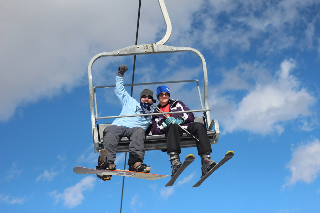 Pennsylvania skiers and riders are stoked to get the season going. - ©Hidden Valley Resort