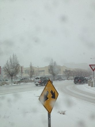It's coming down in Denver! So excited