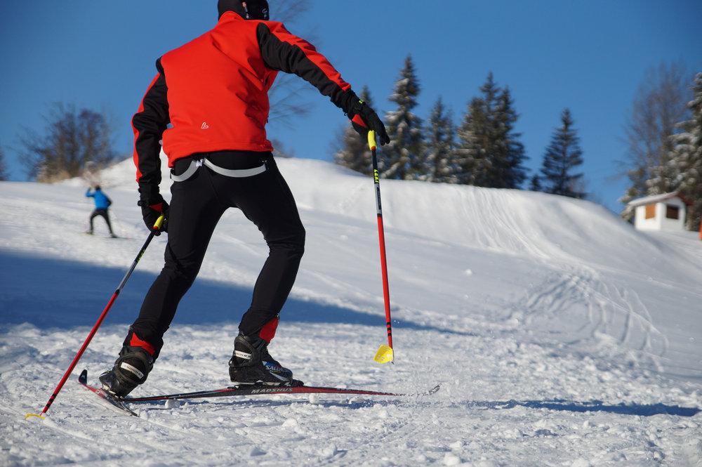 Langlaufzentrum Bleaml Alm - 2,5km Wettkampfloipe - © Erlebnis Ochsenkopf