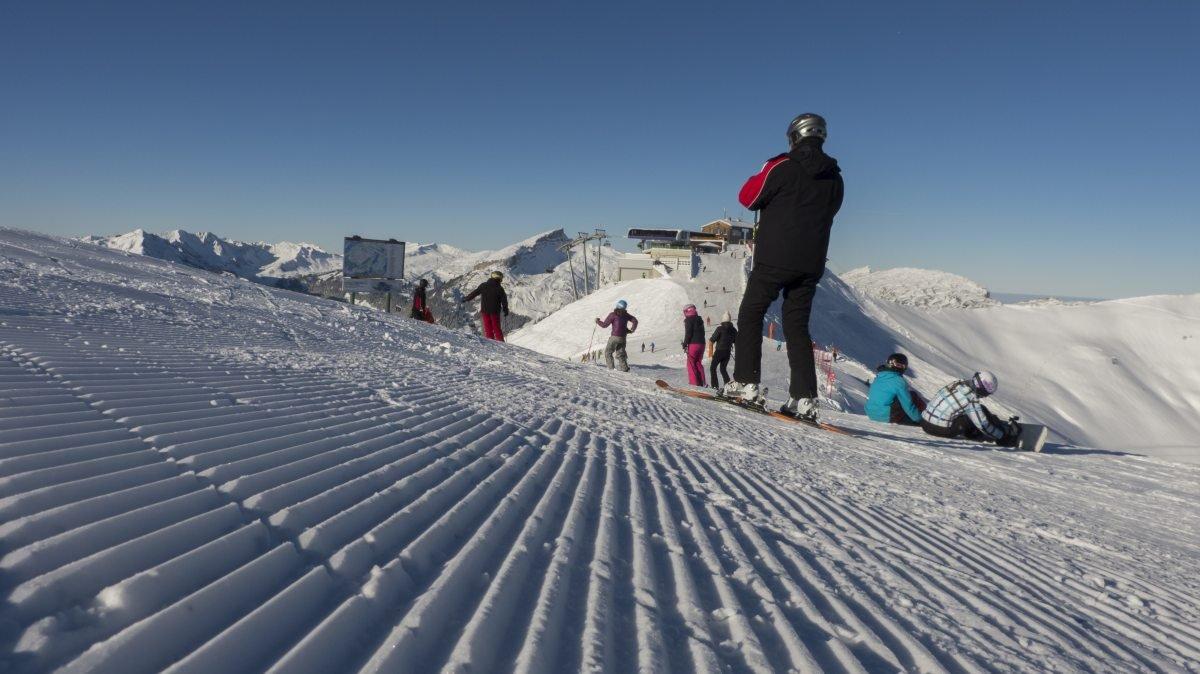Frisch präpariert geht es in die Wintersaison - © DAS HÖCHSTE - Bergbahnen Oberstdorf/Kleinwalsertal, Fotograf: Jennifer Tautz