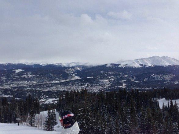 Top if peak 8 looking at breckenfridge.
