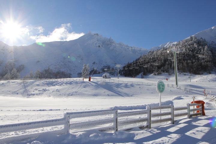 Le front de neige du Mont Dore - © Office de Tourisme Massif du Sancy