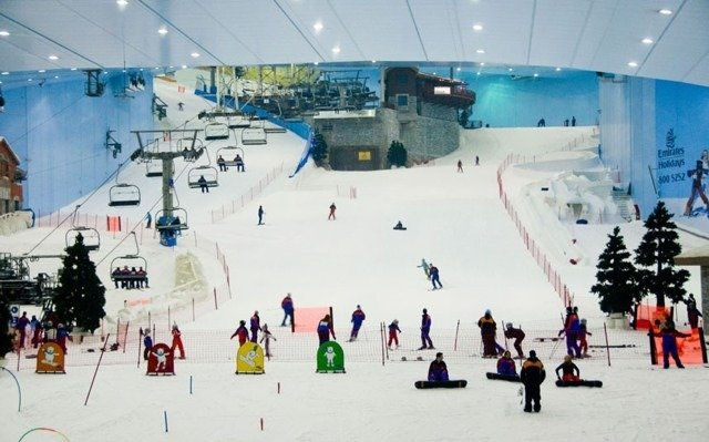 Can't wait to tear up the new indoor ski resort!!!