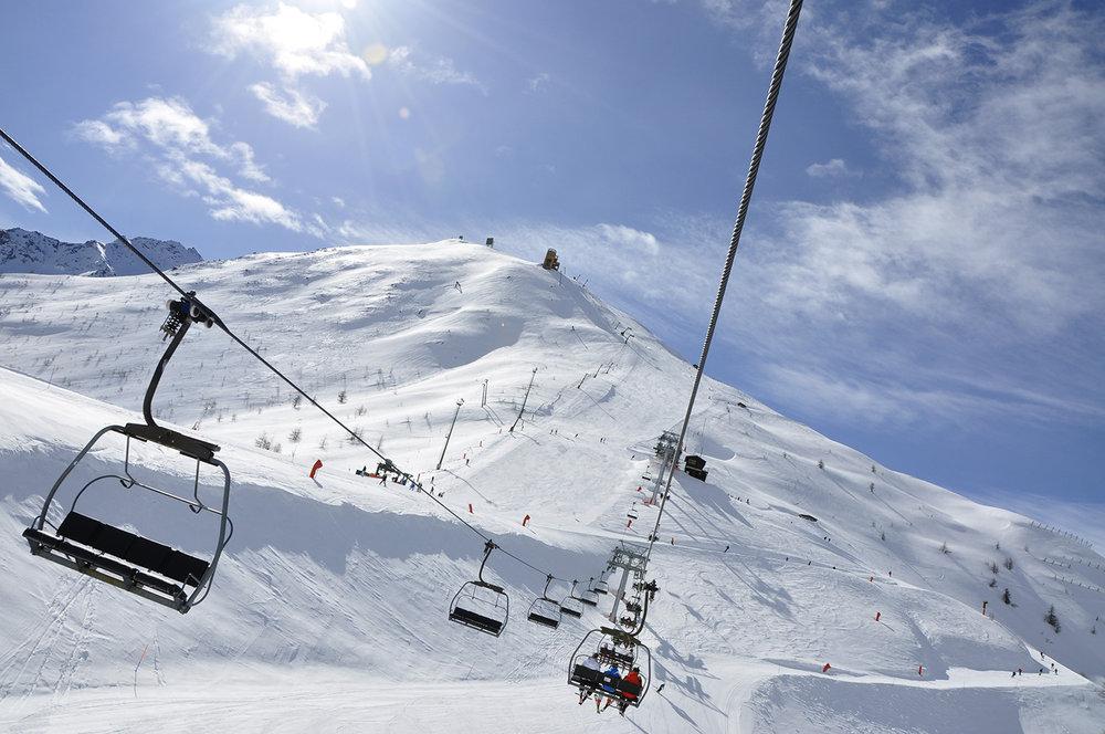 Domaine skiable de Sestrières / La voie Lactée - © Sestriere Vialattea