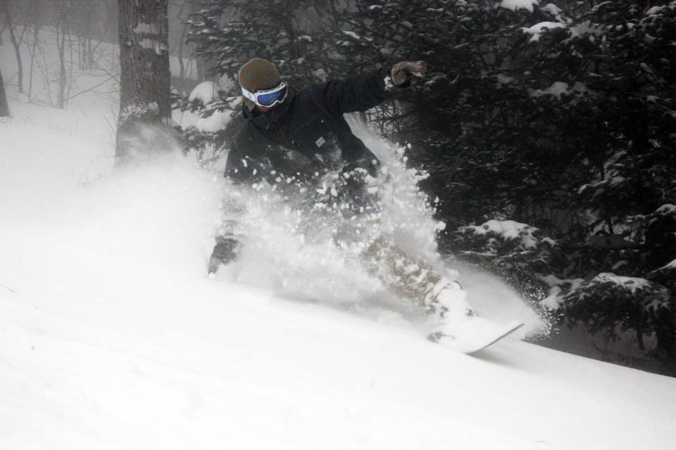 A big December storm drops ropes at resorts across the Northeast. - © Burke Mountain Resort