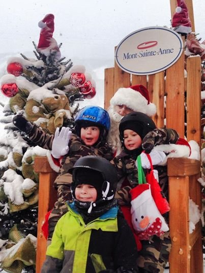 "Say ""Cheese!"" - © Mont-Sainte-Anne"