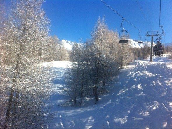 Superbe neige et super soleil au super !!!!!
