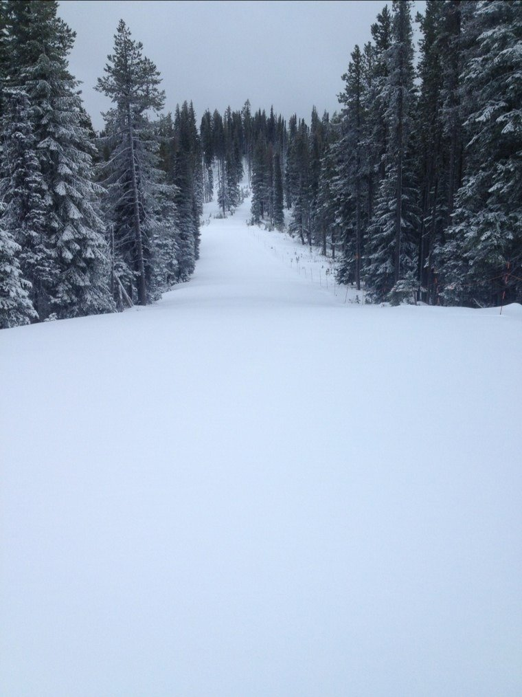 "4"" new snow for the New Year...open 9a-4p New Years Day!"