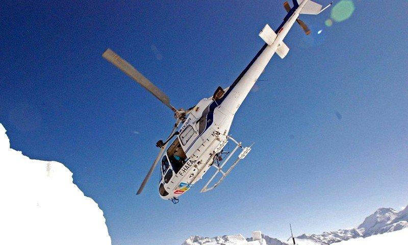 Ongerepte toppen verkennen met de helikopter: heliskiën tijdens je skivakantie in Arc 1950 - © Arc 1950