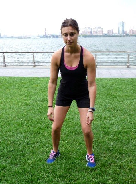 2. Gewichtsverlagerung auf ein Bein - © Danielle Shapiro