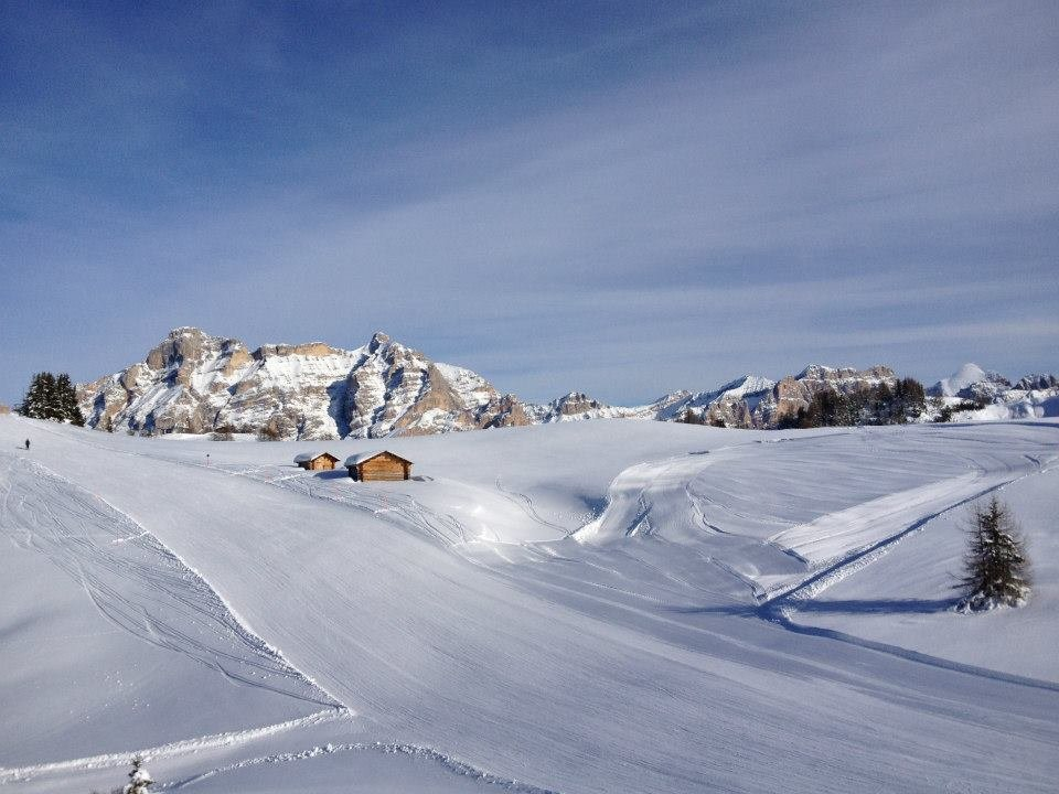Blick über die Dolomiten - © Alta Badia