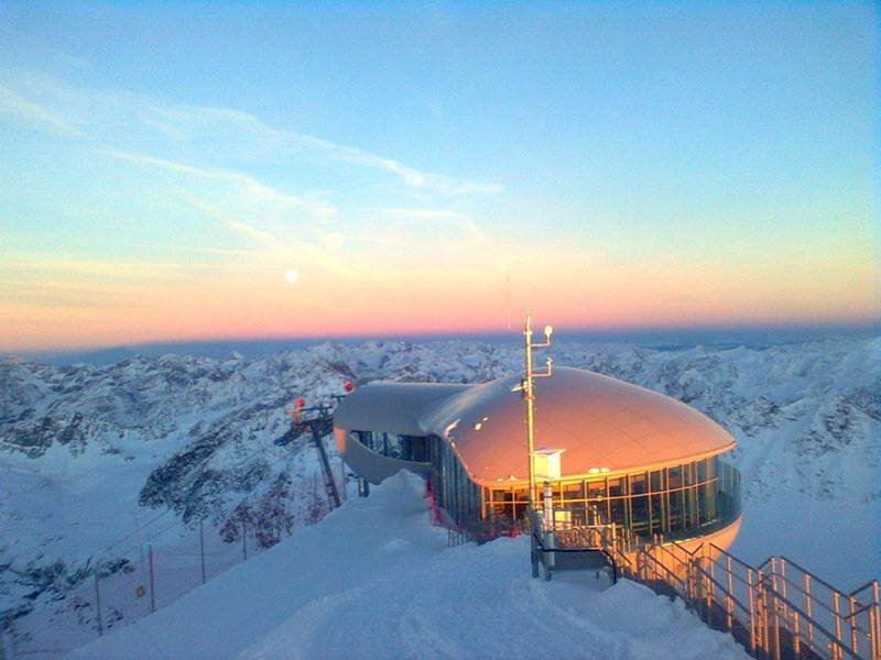 Der Pitztaler Gletscher am 17. November