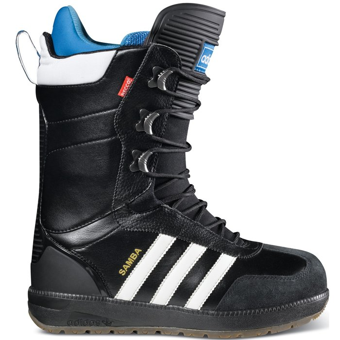 """Dobrá obuv isto poteší, a tento model """"Samba"""" od Adidas dvojnásobne. - © http://www.adidas.com/com/apps/snowboarding/"""