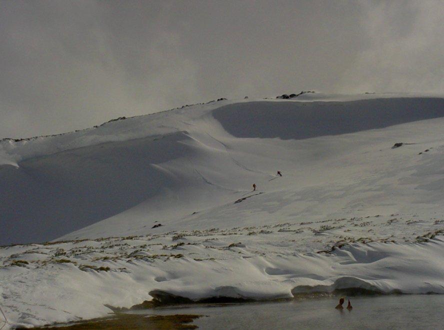Varme kilder i Caviahue - © Jeppe Hansen