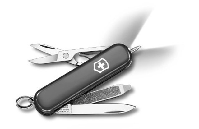 Victorinox Swiss Army Signature Lite: $43.50 Victorinox's Signature multi-tool is a perfect everyday companion. This updated version includes a handy LED light for additional utility.