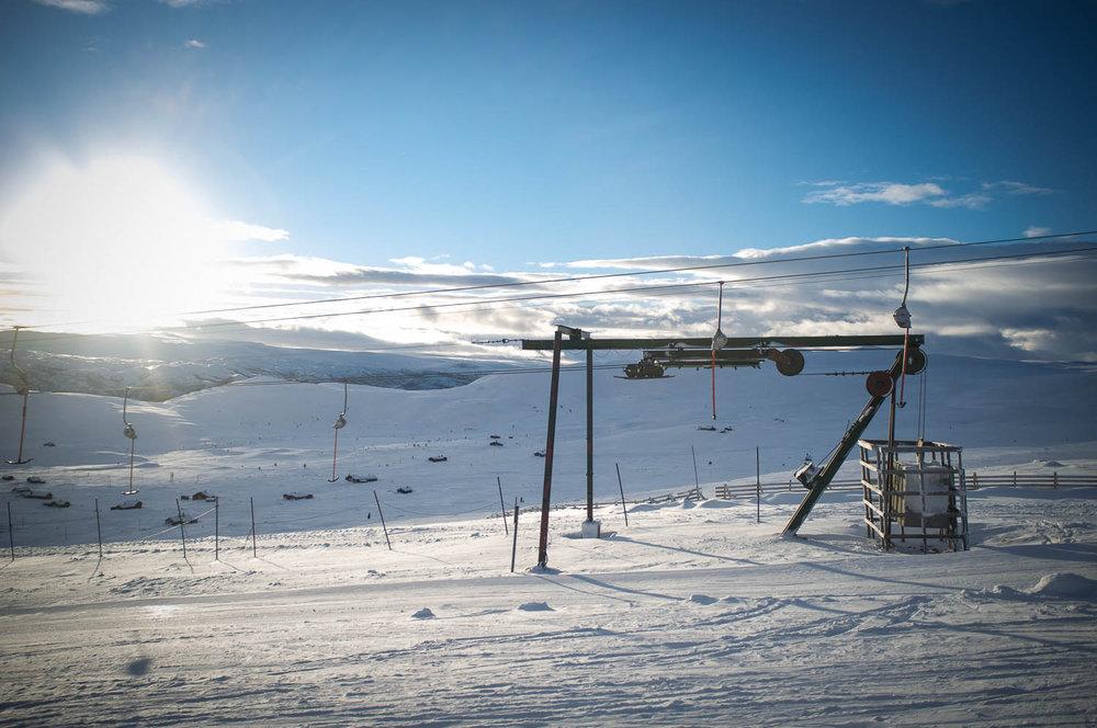Fjellheisen i Havsdalen var vår destinasjon denne fredagen. - © Eirik Aspaas