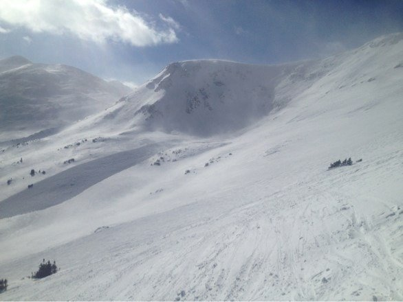 Lots of blasting today. Arte's Bowl and Peak 6 hikes should be open for weekend.