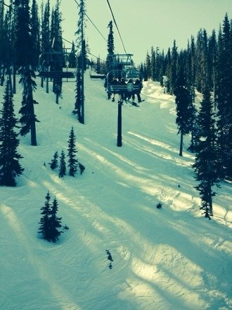 Had a great time on the mountain. Hit up Alberta lift and find some fresh powder in the trees! Weather is great!