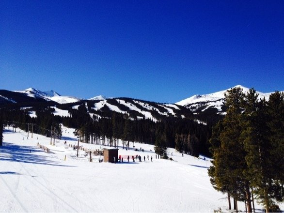Great 2 days at Breck. Bummer no snow this weekend. Sunny days but very windy on Sunday.