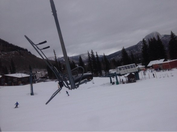 Skied Thursday 1/30 snowed like crazy during the afternoon. Got 8 in Thursday night ready to hit the slopes.