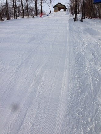 Great conditions! Groomer city. Weather is perfect. Very nice.