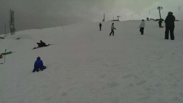 Tanta neve e divertimento