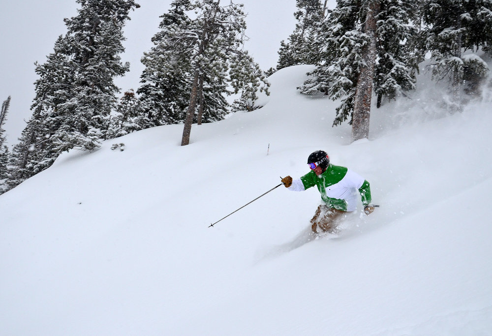 Ski the powder at Winter Park. - ©Photo courtesy Winter Park Resort.