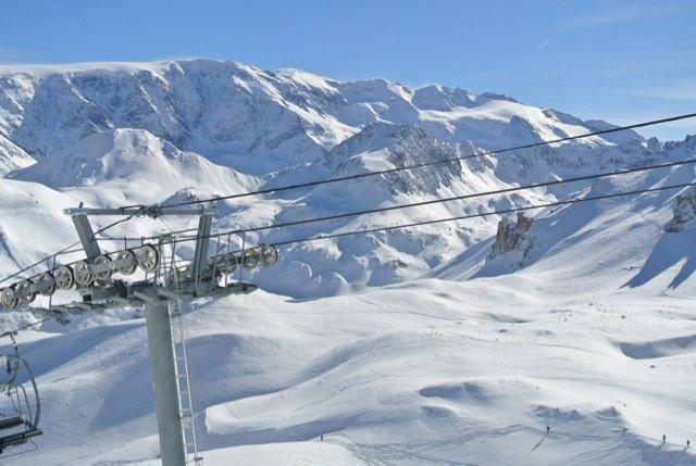 Blue bird day with powder everywhere! In ski heaven.