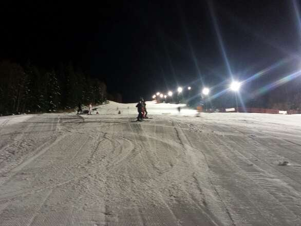only one slope but perfect