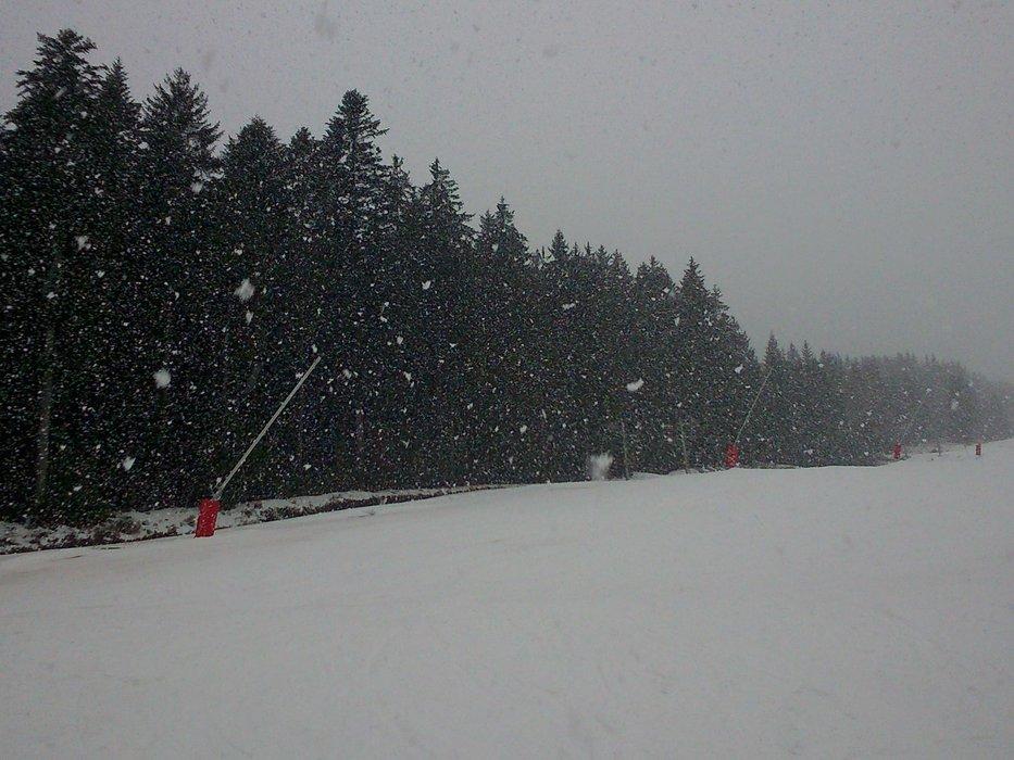 Kubínska hoľa 12.2.2014 - © SKI PARK Kubínska hoľa
