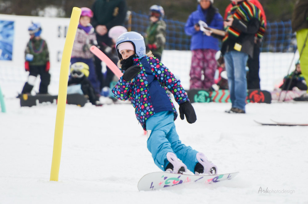 Kids enjoy the annual ski carnival - ©Snow Trails