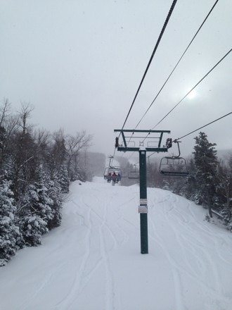 Great conditions... Plenty of puffy stuff