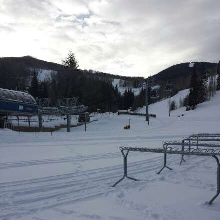 """way more than 2"""" inches in the back bowls. Found fresh tracks in Avanti area at 3:30!!!"""