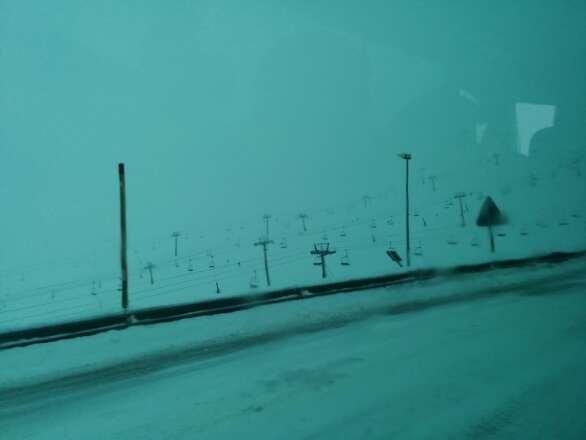 Snowing right now in Pas De La Casa. Tomorrow should be a good powder day